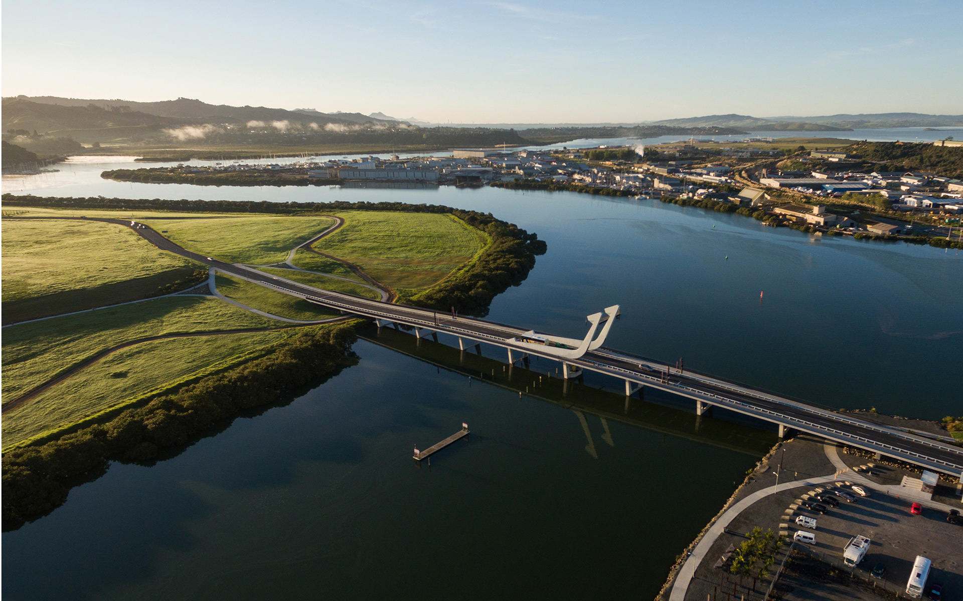 Te Matau o Pohe Bridge Showcase