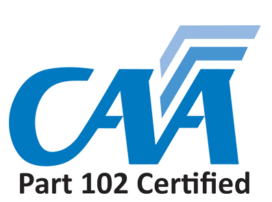 Aerial Vision is Part 102 Certified.